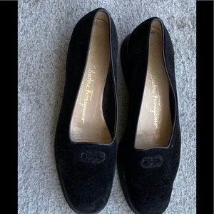 Salvatore Ferragamo suede shoes size 8